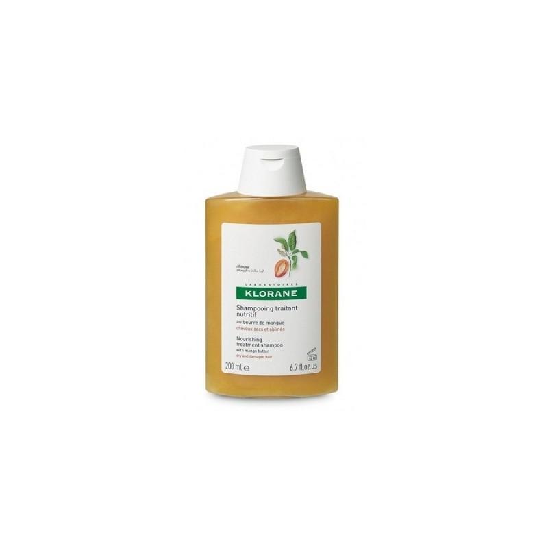 Klorane - Klorane Shampoo Burro Mango 200 Ml - 903484032