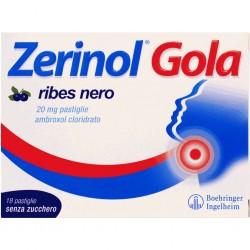 Sanofi - ZERINOL GOLA RIBES18PAST20MG - 036089136