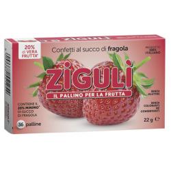 Farmaciapoint - ZIGULI FRAGOLA 36 PALLINE - 909286229