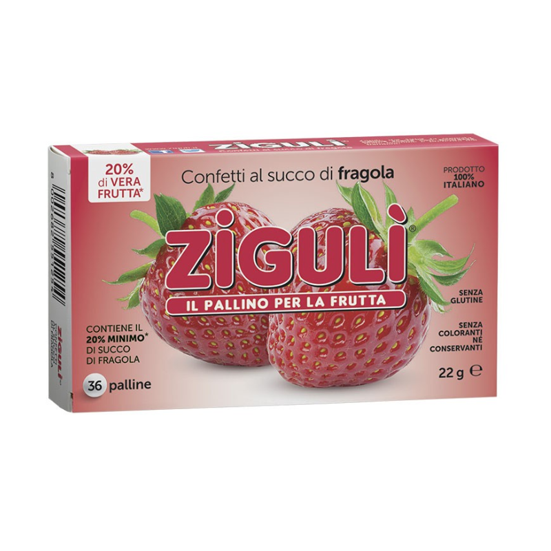 ZIGULI FRAGOLA 36 PALLINE