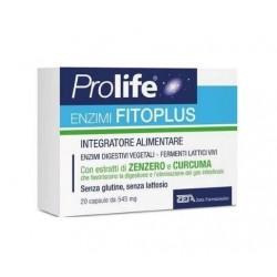 Zeta Farmaceutici - PROLIFE ENZIMI FITOPLUS 20CPS - 941784086