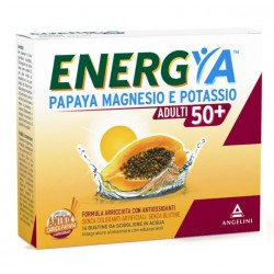 Angelini Spa - MAGNESIO POTASSIO ENERGYA PAPAYA 50+ 14 BUSTINE - 975597143