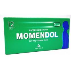 A.menarini Ind.far - MOMENDOL 12 Capsule MOLLI 220MG - 025829223