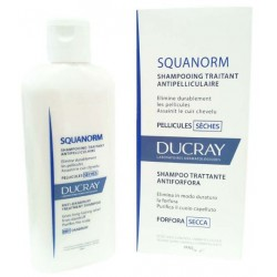 Ducray - DUCRAY SQUANORM FORFORA SECCA SHAMPOO 200ML - 926063280