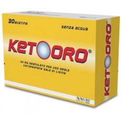 EPIFARMA S.R.L. - KETOORO GRANULATO 30BUSTINE 40MG - 044365031