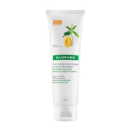 Klorane Crema Quotidiana Al Burro Di Mango 125ml - capelli danneggiati