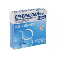 Farmaciapoint - EFFERALGANMED 16 COMPRESSE EFFERVESCENTI500MG - 044685028