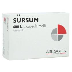 Abiogen - SURSUM 30 CAPSULE MOLLI 400UI - 025910047