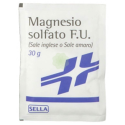 Sella - MAGNESIO SOLFATO 30G POLVERE - c