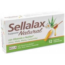 Sella - SELLALAX NATURAL 12 SUPPOSTE - 971228073