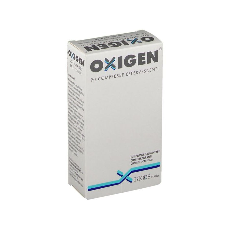 OXIGEN  20 COMPRESSE EFFERVESCENTI