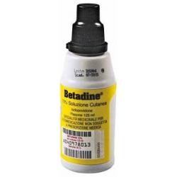 Farmaciapoint - BETADINE 10% SOLUZIONE CUTANEA 125ML - 042858011