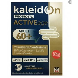 A.menarini Ind.far - KALEIDON PROBIOTIC ACTIVEAGE 60+ DA 14 BUSTINE - 976335695
