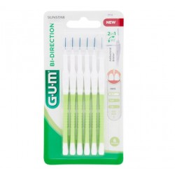 Gum - Gum Bi-Direction Scovolini Punta Ultra Fine 2114 6 Pezzi - 978503896