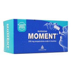 Angelini Spa - MOMENT SOSPENSIONE 8 BUSTINE 200MG - 025669348