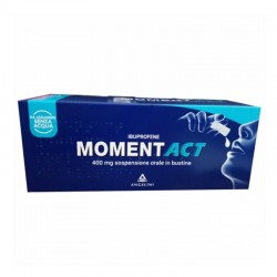 Angelini Spa - MOMENTACT 8 BUSTINE OROSOLUBILI 400MG - 035618077