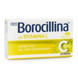 ALFASIGMA - NEOBOROCILLINA CON VITAMINA C 20 PASTIGLIE 1,2+70 MG - 022632071