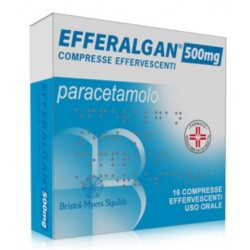 Farmaciapoint - EFFERALGAN 16 COMPRESSE EFFERVESCENTI 500MG - 026608036