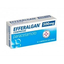 Perrigo - EFFERALGAN 16 COMPRESSE 500MG - 026608125