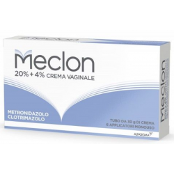 ALFASIGMA - MECLON CREMA VAGINALE 30G 20% + 4% + 6 APPLICATORI MONOUSO - 023703046