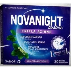 Sanofi - NOVANIGHT 20 BUSTINE TRIPLA AZIONE - 944105372