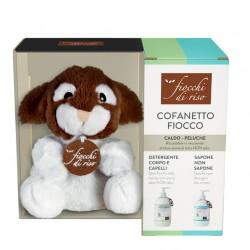 Fiocchi di Riso - Cofanetto FIOCCO DI RISO - Peluche, Sapone Non Sapone e Detergente Corpo e Capelli - 978859674