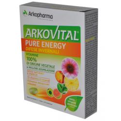 Arkofarm - ARKOVITAL PURE ENERGY DIFESE INVERNALI 30 COMPRESSE - 975089121