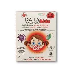DIVA - COMFORT MASK PROTECTION KIDS 7-12 anni FEMMINA 1 pz lavabile + 3 filtri lavabili fino a 3 volte - 980638872