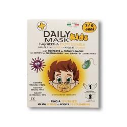 DIVA - COMFORT MASK PROTECTION KIDS 3-6 anni MASCHIO 1 pz lavabile + 3 filtri lavabili fino a 3 volte - 980638807