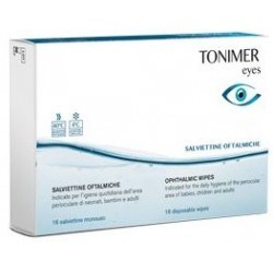 Tonimer - TONIMER EYES SALVIETTINE OFTALMICHE 16PZ - 979410988