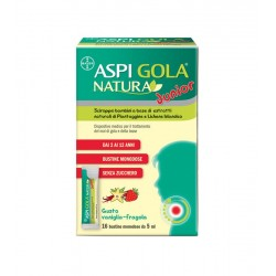 Bayer Spa - Aspi Gola Natura Junior 16 Bustine - 980772065
