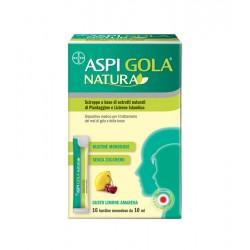 Bayer Spa - Aspi gola natura 16 bustine adulti - 980772053