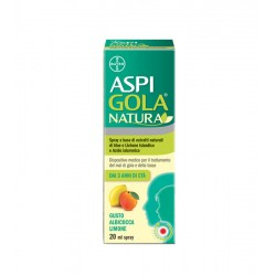 Bayer Spa - Aspi gola natura Spray Albicocca e Limone - 980772040