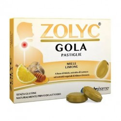 Shedir Pharma  - ZOLYC GOLA MIELE/LIMONE 24 PASTIGLIE - 942626565