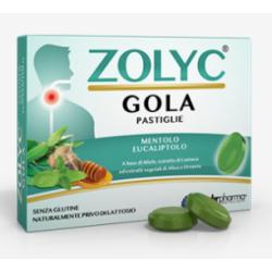 Shedir Pharma  - ZOLYC GOLA AL MENTOLO EUCALIPTO 24 PASTIGLIE - 942626540