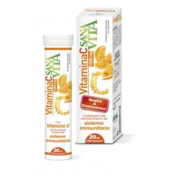 Sanavita - Sanavita Vitamina C 20 Compresse Effervescenti - 971196858