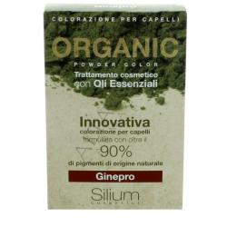 Silium - Silium Ginepro Organic Powder Color Con Bustina Olii Essenziali 40 G + 20 Ml - 971482880