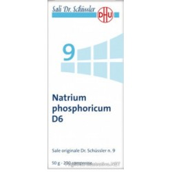 Farmaciapoint - SALI DR SCHUSSLER N 9 NATRIUM PHOSPHORICUM D6 200 COMPRESSE - 046315026