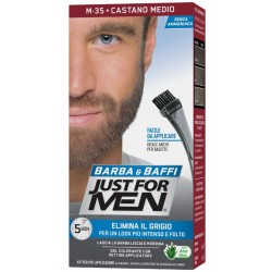 Combe - JUST FOR MEN BARBA&BAFFI M-35 CASTANO MEDIO - 978626051