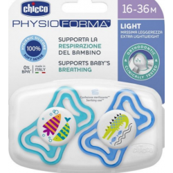 Chicco - CHICCO SUCCHIETTI LIGHTBOYSIL 16-36M 2 PEZZI - 977628041