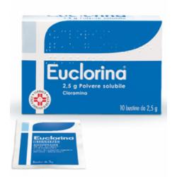 Dompe` Farmaceutic - EUCLORINA POLVERE SOLUBILE 10 BUSTINE DA 2,5 G - 032056020