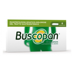Sanofi Spa - BUSCOPAN 6 SUPPOSTE DA 10 MG - 006979049