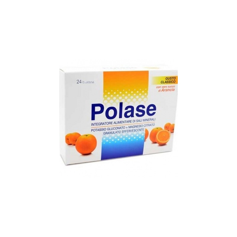 Polase - Polase Arancia 24 Bustine Effervescenti - 930376379