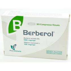 Farmaciapoint - BERBEROL 30 COMPRESSE - 939953776