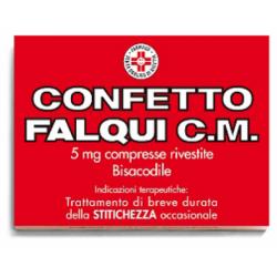 Falqui - CONFETTO FALQUI C.M. 20 COMPRESSE 5MG - 033072012