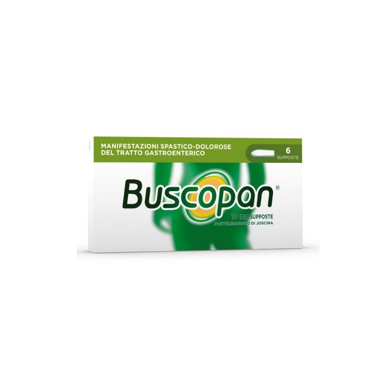 BUSCOPAN COMPOSITUM 6 SUPPOSTE DA 10 MG + 800 MG