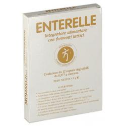 Farmaciapoint - ENTERELLE 12 CAPSULE - 912039385