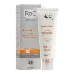 Roc - Roc Solari Soleil Protexion + Fluida Viso Elevata Tollerabilita' Spf50 50 Ml - 926569361