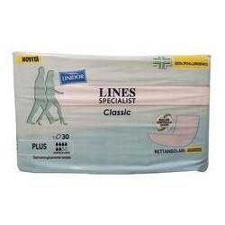 Lines - LINES SPECIALIST CLASSIC RETTANGOLARI CON BARRIERA IMPERMEABILE 30 PEZZI - 974059584