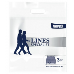 Lines - LINES SPECIALIST MUTANDA ELASTICA MISURA PICCOLA 3 PEZZI - 975024454